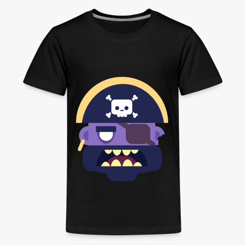 Mini Monsters - Captain Zed - Teenager premium T-shirt