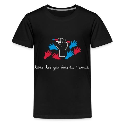 Tous les gamins du monde par éoline - T-shirt Premium Ado