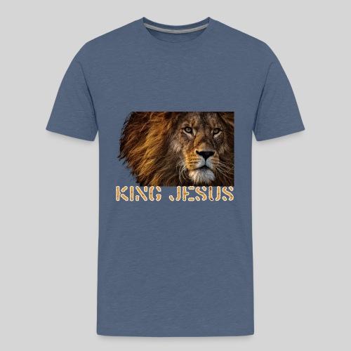 König Jesus der Löwe von Juda - Teenager Premium T-Shirt