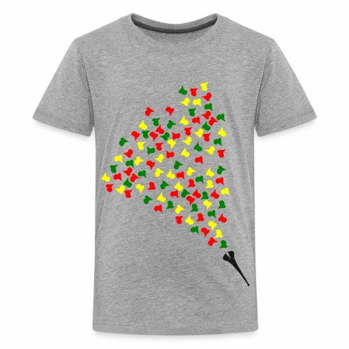 vuvuzelalovatransparent - T-shirt Premium Ado