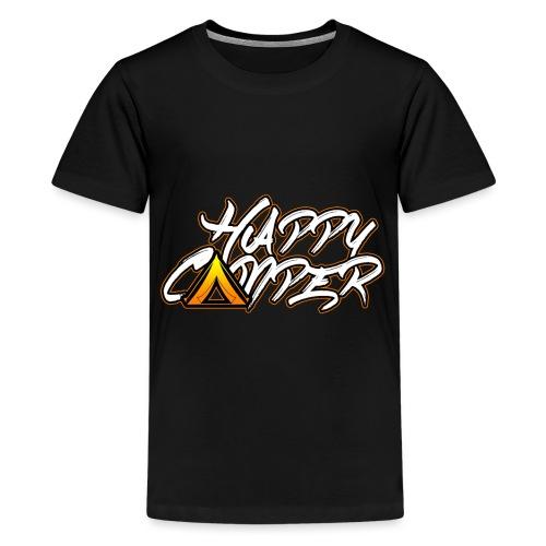Happy Camper Camping T Shirt for Men Women and - Teenager Premium T-Shirt