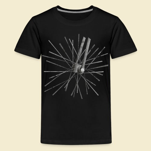 Radball Speichen 2 - Teenager Premium T-Shirt