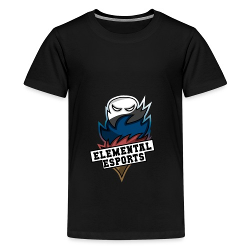 Elemental eSports | 2018 Logo - Teenager premium T-shirt