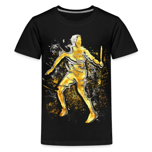 Badminton - Smash - Badminton Spieler - Teenager Premium T-Shirt