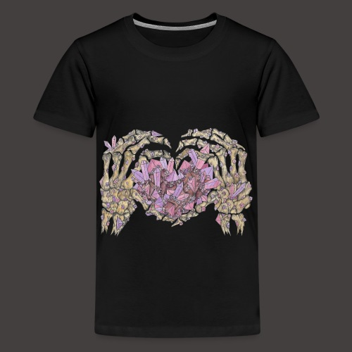 L amour Cristallin couleur - T-shirt Premium Ado
