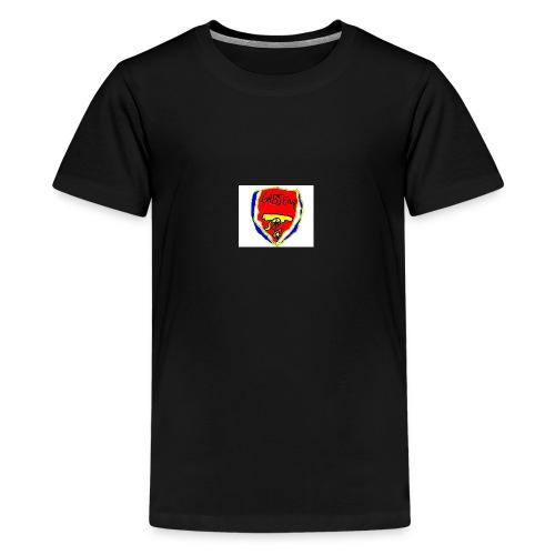 Gabsenal logo - Premium T-skjorte for tenåringer