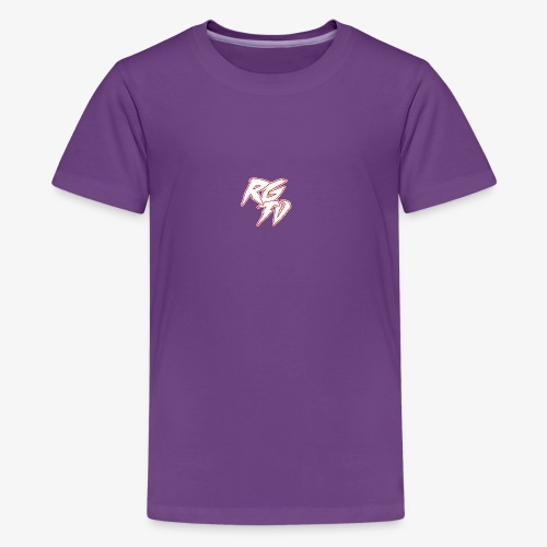 RGTV 1 - Teenage Premium T-Shirt