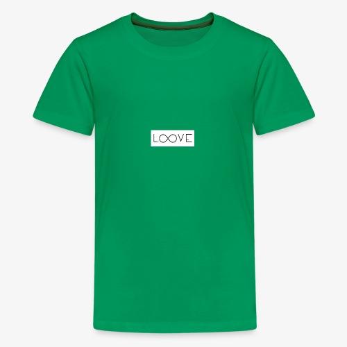 LOOVE Box Logo (SS18) - Maglietta Premium per ragazzi