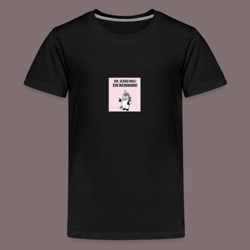 28F4E41B 0662 4C67 AA87 FFF473FDCFF1 - Teenager Premium T-Shirt