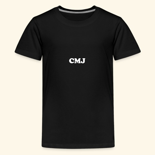 CMJ white merch - Teenage Premium T-Shirt