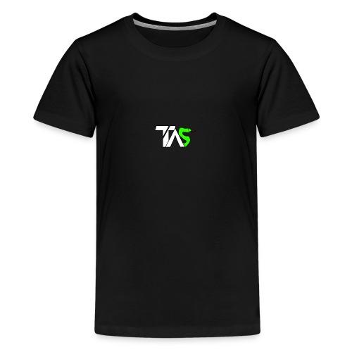 TAS loggan - Premium-T-shirt tonåring