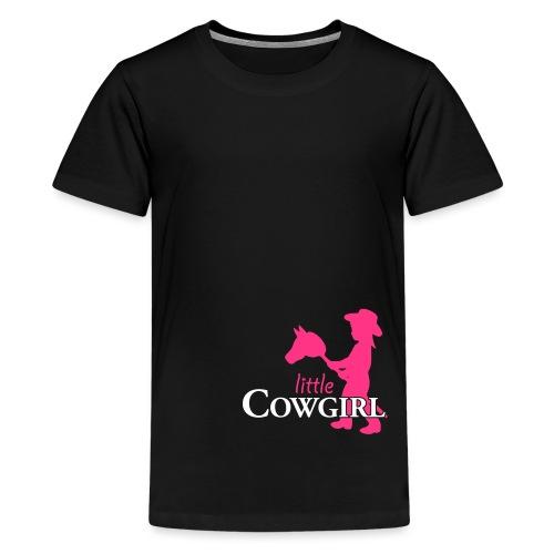 LittleCowgirl W - Teenager Premium T-Shirt