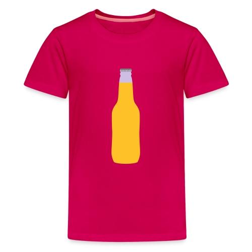 Bierflasche - Teenager Premium T-Shirt