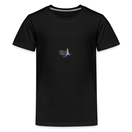 logobluegoldww png - Teenager Premium T-shirt