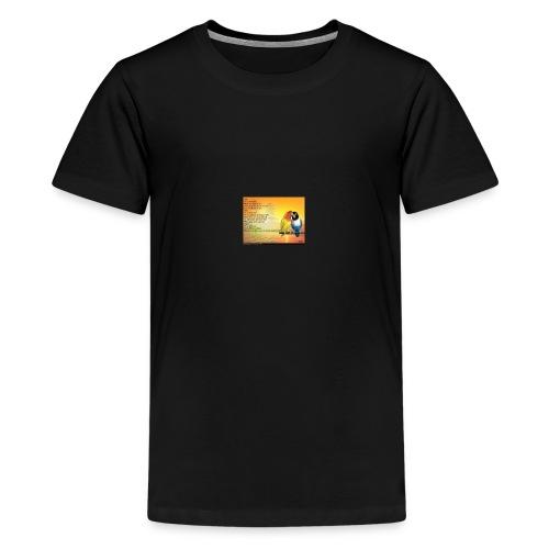 Poème d'amitié - T-shirt Premium Ado