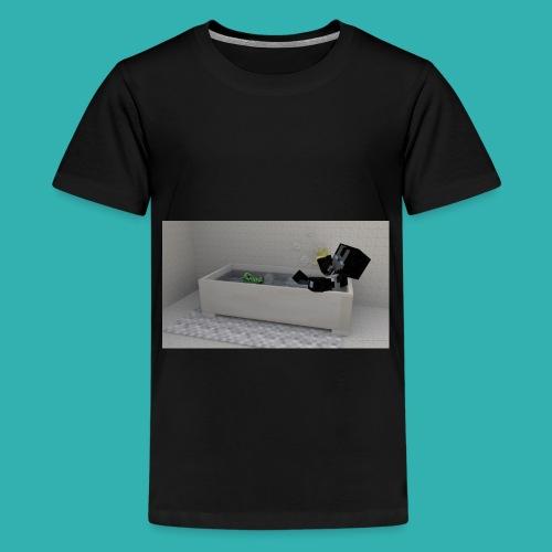 4B5DE7B0 FB9F 47BD 8FCC 84CEFF68287F png - Teenage Premium T-Shirt