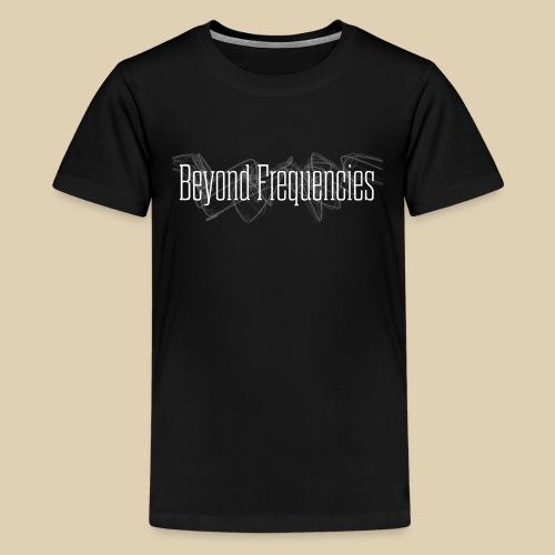 BF - Waves Classic Design Black - Teenager Premium T-Shirt