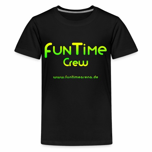 FunTime_Crew_Logo - Teenager Premium T-Shirt