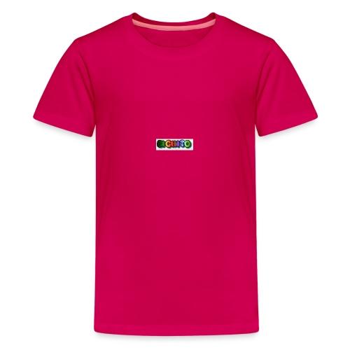 cooltext206752207876282 - Camiseta premium adolescente