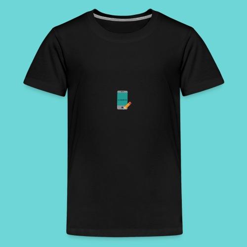 phone merch - Teenage Premium T-Shirt