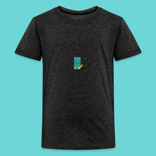 phone merch - Teenage Premium T-Shirt