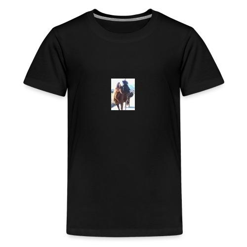 Pferd/Pony Stute - Teenager Premium T-Shirt