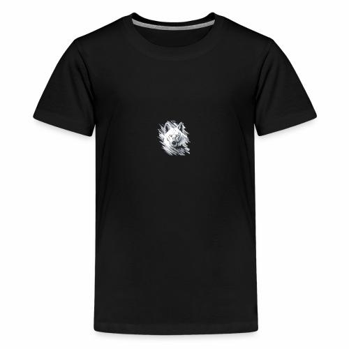 Wolf-logo_full - T-shirt Premium Ado