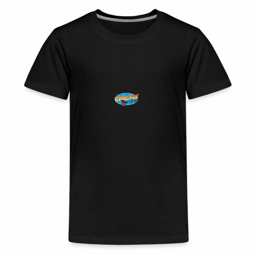 TRANSPARENT CHUCKLE CHEESE - Teenage Premium T-Shirt
