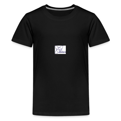 dukes zitadelle 1 blau - Teenager Premium T-Shirt