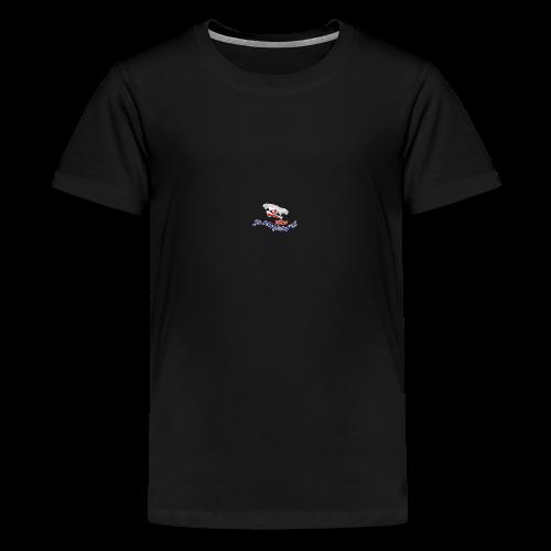 BCV73 Logo SHOP Kontur komplett - Teenager Premium T-Shirt