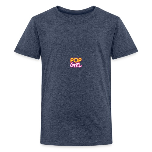 Pop Girl logo - Teenage Premium T-Shirt