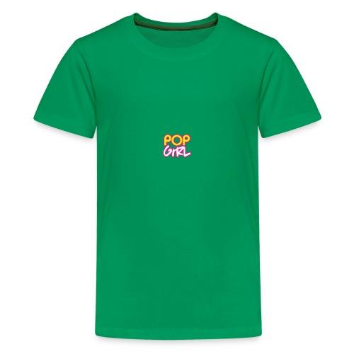 Pop Girl logo - Teenage Premium T-Shirt