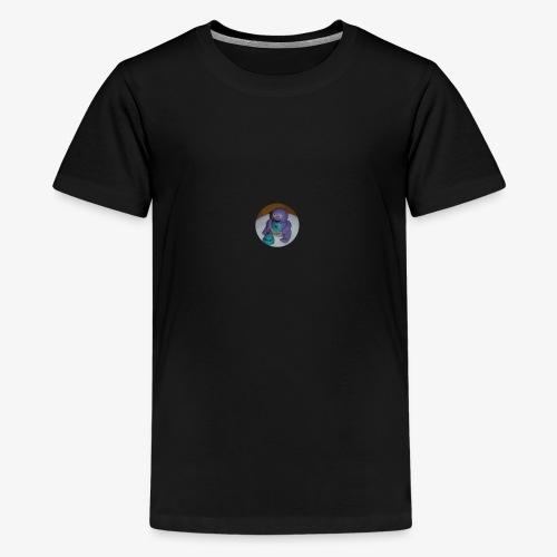 Kakkumonsteri - Teinien premium t-paita