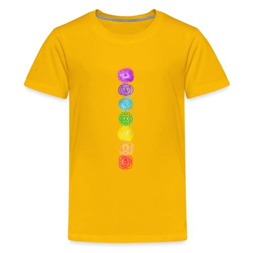 linea chakra - Maglietta Premium per ragazzi