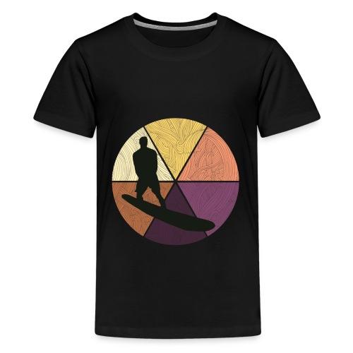 Wellenreiten - Teenager Premium T-Shirt