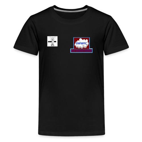 2nd Crest png - Teenage Premium T-Shirt