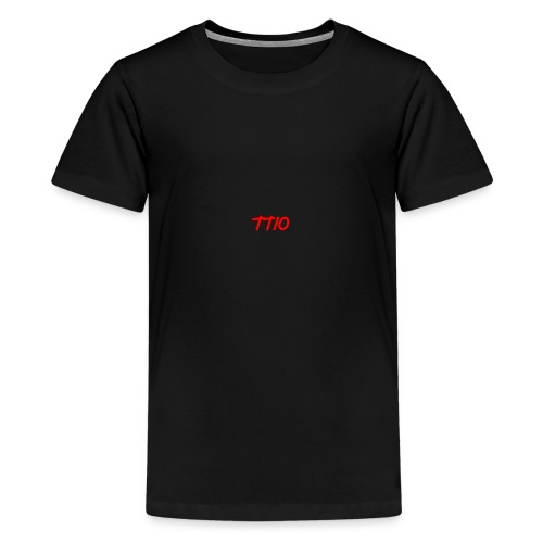 TroubledTV spike logo - Teenage Premium T-Shirt