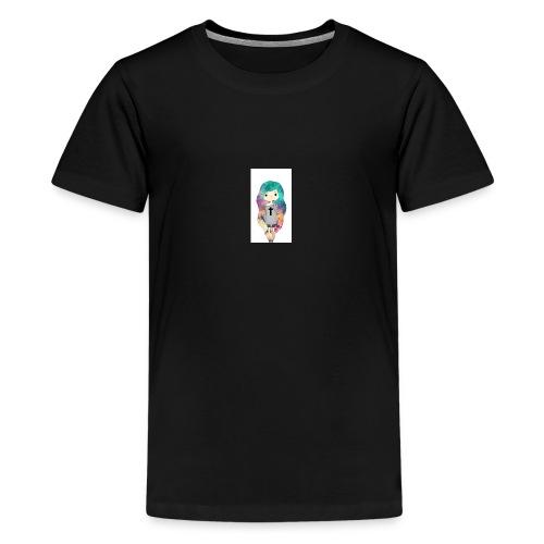 hermosa chica - Camiseta premium adolescente