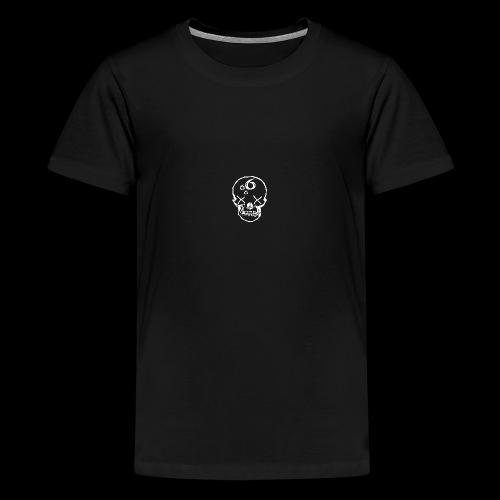 666 Skull - Premium-T-shirt tonåring
