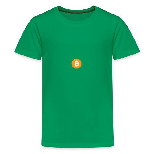 Bitcoin - Teenage Premium T-Shirt