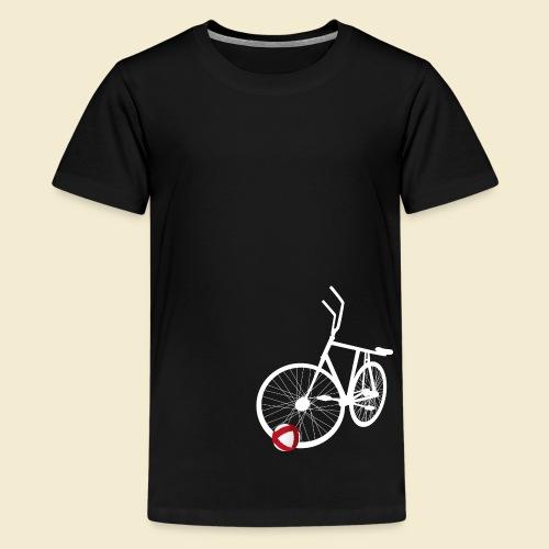 Radball | White - Teenager Premium T-Shirt