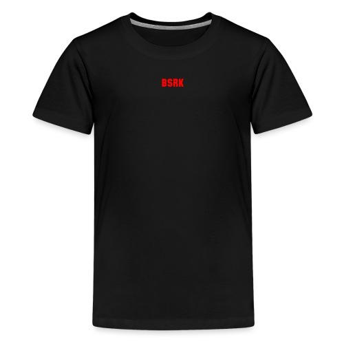 Red Logo - Teenage Premium T-Shirt