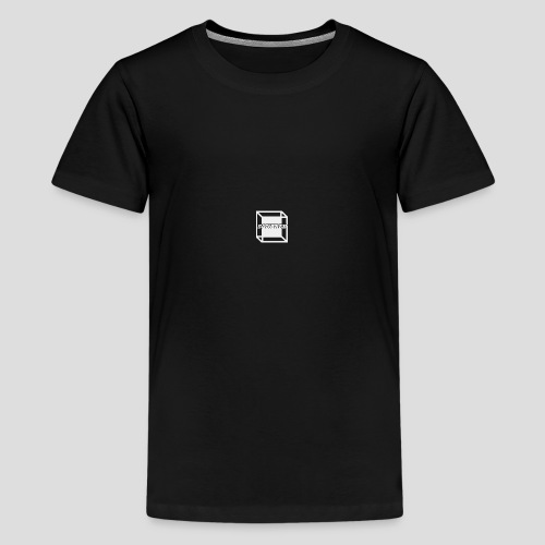 Squared Apparel White Logo - Teenage Premium T-Shirt