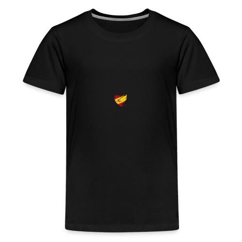 corazon español - Camiseta premium adolescente
