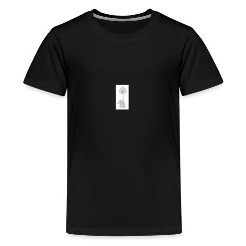 B1A831CF 74F5 4A72 AD33 E76EF0C50A50 - Teenager premium T-shirt