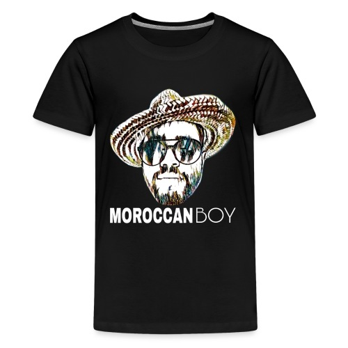 MOROCCAN BOY WHITE - T-shirt Premium Ado