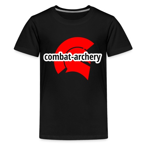 combat archery logo - Teenager Premium T-Shirt