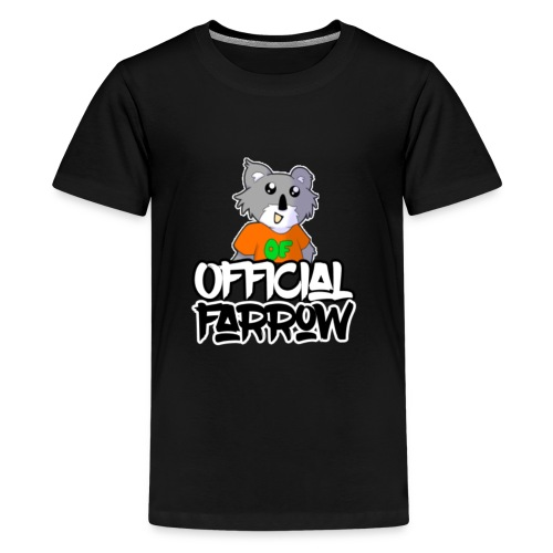 Official Farrow Shirt - Teenage Premium T-Shirt