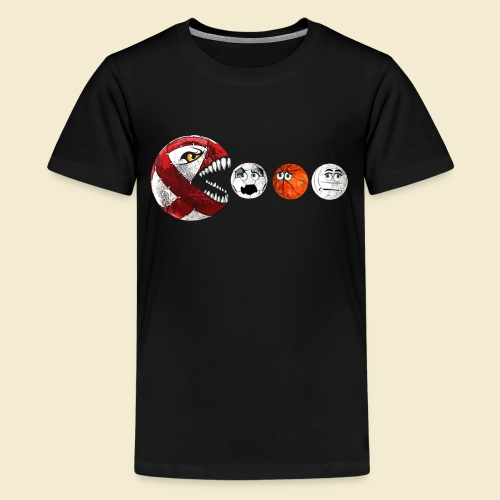 Radball | Cycle Ball RedMan - Teenager Premium T-Shirt