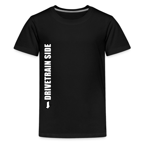 Mountainbike Fahrrad Rennrad Bike Drivetrain Kurbe - Teenager Premium T-Shirt